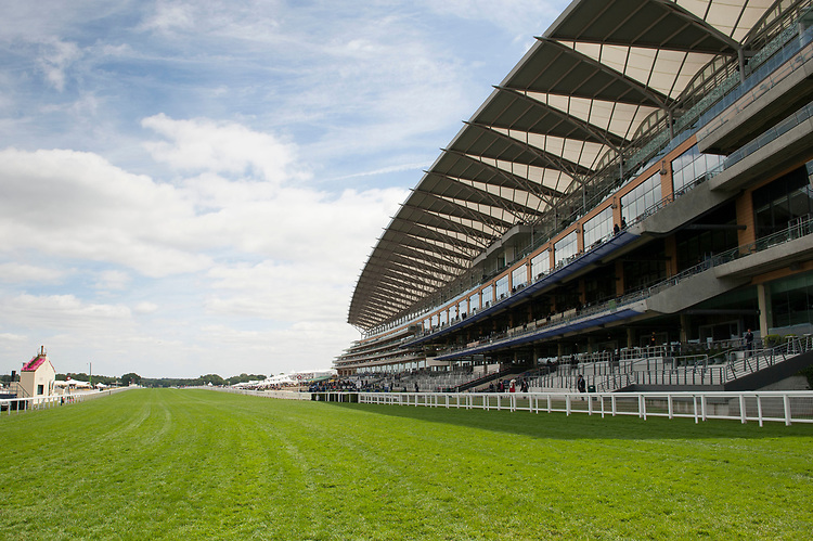 General view of the grandstand during The Coronation Stakes Day of Royal Ascot 2017 at Royal Ascot Racecourse on Friday 23rd June 2017 (Photo by Rob Munro/Stewart Communications)