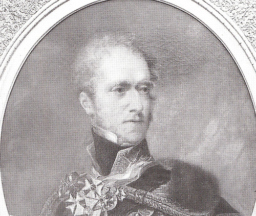 The Marquess of Anglesey, first Commodore of the Royal Irish Yacht Club in 1831