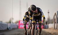 Tom Meeusen (BEL/Telenet-Fidea)<br /> <br /> Elite Men's Race<br /> Soudal Jaarmarktcross Niel 2016