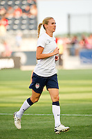 Heather Mitts (2) of the United States (USA). The United States (USA) women defeated China PR (CHN) 4-1 during an international friendly at PPL Park in Chester, PA, on May 27, 2012.