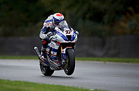 Jake Dixon (27) of RAF Regular and Reserves Kawasaki during practice in the MCE BRITISH SUPERBIKE Championships 2017 at Brands Hatch, Longfield, England on 13 October 2017. Photo by Alan  Stanford / PRiME Media Images.