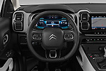 Car pictures of steering wheel view of a 2019 Citroen C5-Aircross Shine 5 Door SUV Steering Wheel