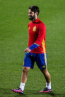 Spainsh Isco Alarcon during the training of the spanish national football team in the city of football of Las Rozas in Madrid, Spain. November 08, 2016. (ALTERPHOTOS/Rodrigo Jimenez) ///NORTEPHOTO.COM