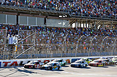 Monster Energy NASCAR Cup Series<br /> GEICO 500<br /> Talladega Superspeedway, Talladega, AL USA<br /> Sunday 7 May 2017<br /> Kyle Busch, Joe Gibbs Racing, Skittles Red, White, & Blue Toyota Camry and Ricky Stenhouse Jr, Roush Fenway Racing, Fifth Third Bank Ford Fusion<br /> World Copyright: Nigel Kinrade<br /> LAT Images<br /> ref: Digital Image 17TAL1nk07278
