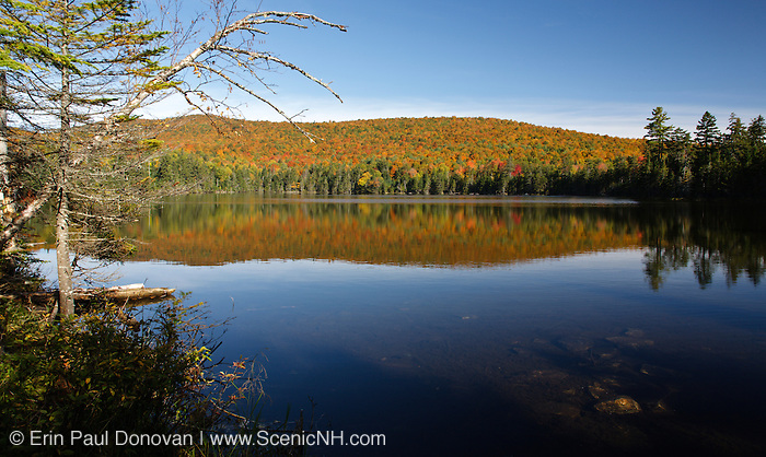 Pond of Safety in Randolph, New Hampshire USA during the autumn months