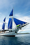 Philippine Siren Front view , Liveaboard dive boat,Visayas, Philippines 2017