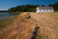Bunk House at English Camp, San Juan Island, Washington, US