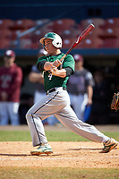 Farmingdale Rams designated hitter Charles O'Neill Jr. (4) at bat during a game against the Union Dutchmen on February 21, 2016 at Chain of Lakes Stadium in Winter Haven, Florida.  Farmingdale defeated Union 17-5.  (Mike Janes/Four Seam Images)