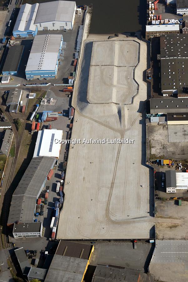 Steinwerder Hafen: EUROPA, DEUTSCHLAND, HAMBURG 09.04.2017 Steinwerder Hafen