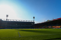 7th November 2020; Carrow Road, Norwich, Norfolk, England, English Football League Championship Football, Norwich versus Swansea City; General view of Carrow Road empty due to the pandemic