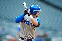 Trey Dawson (2) of the Kentucky Wildcats at bat against the Houston Cougars in game two of the 2018 Shriners Hospitals for Children College Classic at Minute Maid Park on March 2, 2018 in Houston, Texas.  The Wildcats defeated the Cougars 14-2 in 7 innings.   (Brian Westerholt/Four Seam Images)