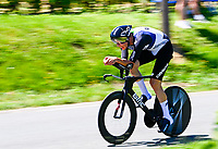 17th July 2021, St Emilian, Bordeaux, France;  WALSCHEID Maximilian Richard (GER) of TEAM QHUBEKA NEXTHASH during stage 20 of the 108th edition of the 2021 Tour de France cycling race, an individual time trial stage of 30,8 kms between Libourne and Saint-Emilion.