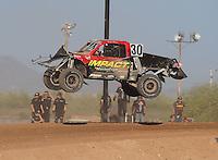 Apr 17, 2011; Surprise, AZ USA; LOORRS driver Robbie Pierce (30) during round 4 at Speedworld Off Road Park. Mandatory Credit: Mark J. Rebilas-