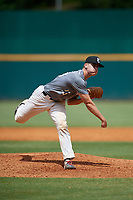 Josh Randall (23) of Capistrano Valley Christian High School in San Juan Capistrano, CA during the Perfect Game National Showcase at Hoover Metropolitan Stadium on June 18, 2020 in Hoover, Alabama. (Mike Janes/Four Seam Images)