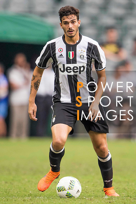 Juventus' player Giulio Parodi in action during the South China vs Juventus match of the AET International Challenge Cup on 30 July 2016 at Hong Kong Stadium, in Hong Kong, China.  Photo by Marcio Machado / Power Sport Images