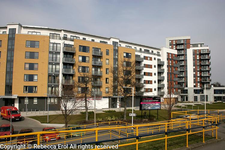 New housing in Greenwich, London, UK