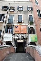L'entrata di Palazzo Querini Stampalia a Venezia.<br /> The entrance of the Palazzo Querini Stampalia in Venice.<br /> UPDATE IMAGES PRESS/Riccardo De Luca