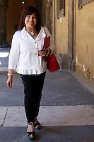 Stefania Pezzopane<br /> Roma 18-06-2015 Senato, Sant'Ivo alla Sapienza. Giunta per la Immunita' Parlamentari. Audizione del Senatore Azzolini in merito al crac della Casa Divina Provvidenza.<br /> Photo Samantha Zucchi Insidefoto
