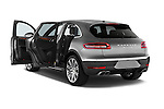 Car images close up view of a 2018 Porsche Macan Turbo 5 Door SUV doors