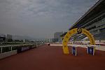 APR 24,2015:Track scene at Sha Tin in New Territories,Hong Kong. Kazushi Ishida/ESW/CSM