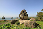 Tel Hadar on the Eastern shore of the Sea of Galilee