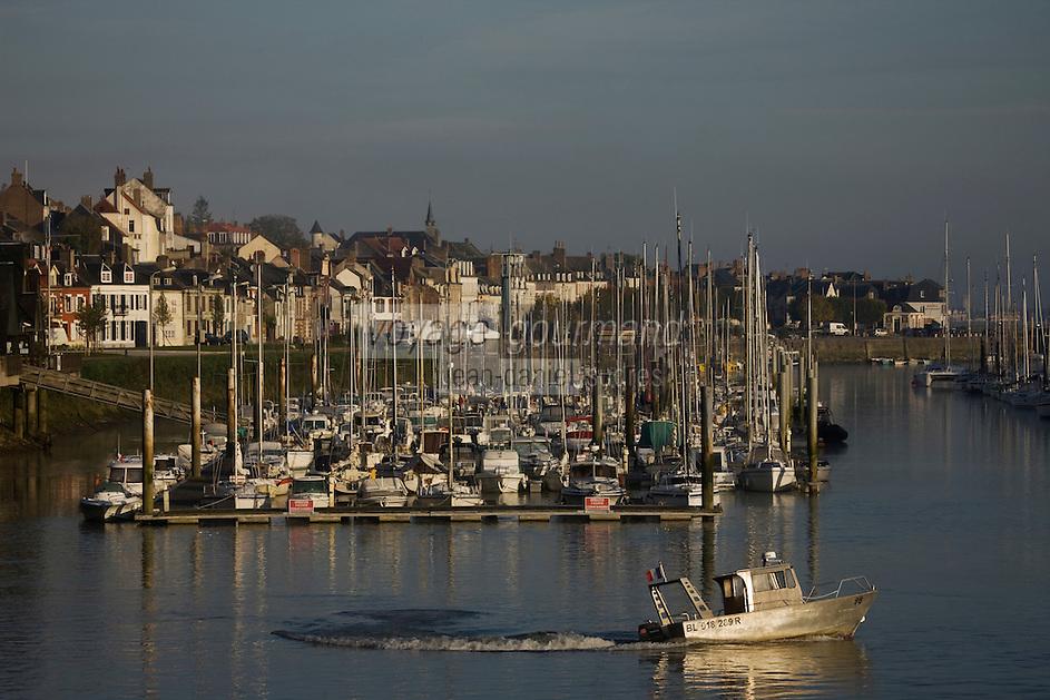 Europe/France/Picardie/80/Somme/Baie de Somme/ Saint-Valery-sur-Somme : le port