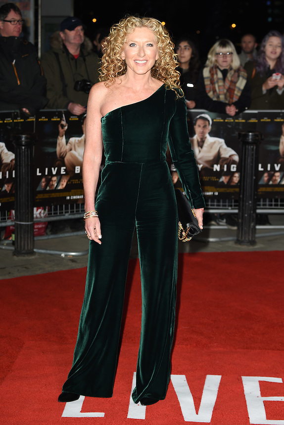 """Kelly Hoppen<br /> at the """"Live by Night"""" premiere at BFI South Bank, London.<br /> <br /> <br /> ©Ash Knotek  D3217  11/01/2017"""