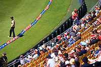 NZ's Mark Chapman stands on the boundary during the 5th international men's T20 cricket match between the New Zealand Black Caps and Australia at Sky Stadium in Wellington, New Zealand on Sunday, 7 March 2021. Photo: Dave Lintott / lintottphoto.co.nz