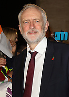 Former Labour Party leader Jeremy Corbyn has been suspended from the party and has had the whip removed after his reaction to an anti-Semitism report. Thursday October 29th 2020<br /> Pictured here at the Pride Of Britain Awards held at Grosvenor House, Park Lane, London, UK on the 30th October 2017<br /> <br /> Photo by Keith Mayhew