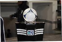 MLS game ball.Sporting Kansas City defeated D.C. United  1-0 at RFK Stadium, Saturday March 10, 2012.