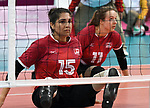 Felicia Voss-Shafiq, Lima 2019 - Sitting Volleyball // Volleyball assis.<br /> Canada competes in women's Sitting Volleyball // Canada participe au volleyball assis féminin. 26/08/2019.