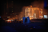 Magali Corouge/Documentography<br />Istanbul, Turkey, the 11th of June 2013.<br /><br />Police started to evacuate Taksim square, on the early morning of the 11th of June, after more than a week of occupation.