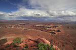 Monument Basin from Grand View Point Overlook in the afternoon, Canyonlands National Park, Utah, USA. .  John offers private photo tours in  Canyonlands National Park and throughout Utah and Colorado. Year-round.