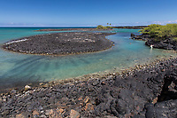 Kiholo Bay, a snorkeling and wildlife viewing area, Kona, Big Island.