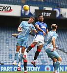 25.07.2020 Rangers v Coventry City: Alfredo Morelos and c11