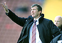 03/10/2009  Copyright  Pic : James Stewart.sct_jspa_13_motherwell_v_falkirk  .MOTHERWELL MANAGER JIM GANNON DURING THE GAME AGAINST FALKIRK.James Stewart Photography 19 Carronlea Drive, Falkirk. FK2 8DN      Vat Reg No. 607 6932 25.Telephone      : +44 (0)1324 570291 .Mobile              : +44 (0)7721 416997.E-mail  :  jim@jspa.co.uk.If you require further information then contact Jim Stewart on any of the numbers above.........