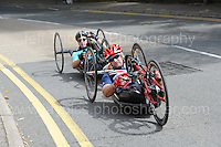 "Competitors during the Abergavenny Festival of Cycling ""Para Grand Prix of Wales"" race on Sunday 17th 2016<br /> <br /> <br /> Jeff Thomas Photography -  www.jaypics.photoshelter.com - <br /> e-mail swansea1001@hotmail.co.uk -<br /> Mob: 07837 386244 -"
