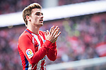 Atletico de Madrid Antoine Griezmann during La Liga match between Atletico de Madrid and Athletic Club and Wanda Metropolitano in Madrid , Spain. February 18, 2018. (ALTERPHOTOS/Borja B.Hojas)