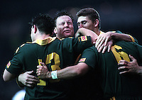 Pix:Michael Steele/SWpix...Rugby League, Australia v Great Britain, Old Trafford, 1996...COPYRIGHT PICTURE>>SIMON WILKINSON..Australia v Great Britain..