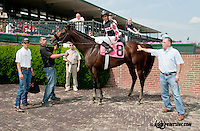 Humble and Hungry winning at Delaware Park on 6/17/13