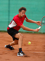 August 17, 2014, Netherlands, Raalte, TV Ramele, Tennis, National Championships, NRTK, Mens Final : Jasper Smit (NED)<br /> Photo: Tennisimages/Henk Koster