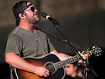 Lee Brice performs at the Harveys Lake Tahoe Outdoor Arena in Stateline, Nev., on Friday, Aug. 30, 2013.  <br /> Photo by Cathleen Allison