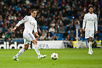 Chicharito of Real Madrid during Champions League match between Real Madrid and Ludogorets at Santiago Bernabeu Stadium in Madrid, Spain. December 09, 2014. (ALTERPHOTOS/Luis Fernandez)