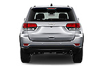 Straight rear view of 2017 JEEP Grand-Cherokee Laredo 5 Door SUV Rear View  stock images