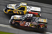 2017 Camping World Truck - NextEra Energy Resources 250<br /> Daytona International Speedway, Daytona Beach, FL USA<br /> Friday 24 February 2017<br /> Myatt Snider and Cody Coughlin<br /> World Copyright: Nigel Kinrade/LAT Images<br /> ref: Digital Image 17DAY2nk10502