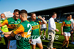 Gavin Crowley, Kerry, after the Munster GAA Football Senior Championship Final match between Kerry and Cork at Fitzgerald Stadium in Killarney on Sunday.