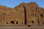 Middle East. Palace Tomb. 49 m width, 45 m high. Jordan. Petra