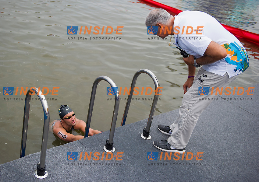 MANOUSSAKIS Nico RSA <br /> Open Water - Men's  25km <br /> Day 09 01/08/2015<br /> XVI FINA World Championships Aquatics Swimming<br /> Kazan Tatarstan RUS July 24 - Aug. 9 2015 <br /> Photo Giorgio Perottino/Deepbluemedia/Insidefoto