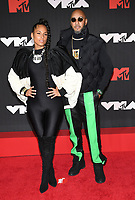 NEW YORK, NY- SEPTEMBER 12: Alicia Keys and Swizz Beatz at the 2021 MTV Video Music Awards at Barclays Center on September 12, 2021 in Brooklyn,  New York City. <br /> CAP/MPI/JP<br /> ©JP/MPI/Capital Pictures