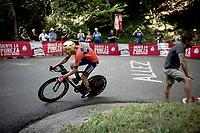 Hermann Pernsteiner (AUT/Bahrain Merida)<br /> <br /> stage 10 (ITT): Jurançon to Pau (36.2km > in FRANCE)<br /> La Vuelta 2019<br /> <br /> ©kramon